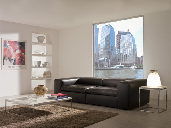 Brown sofa by BertO