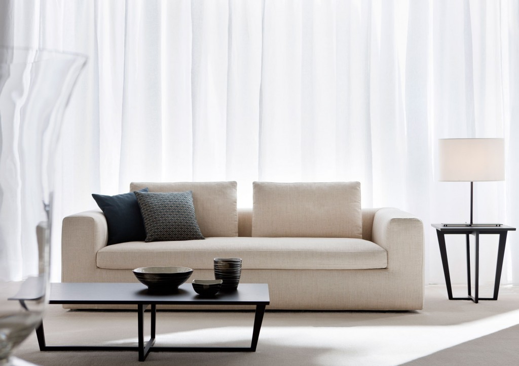 White design sofa by BertO