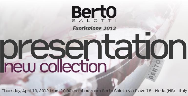 Invito presentazione BertO Fuorisalone 2012