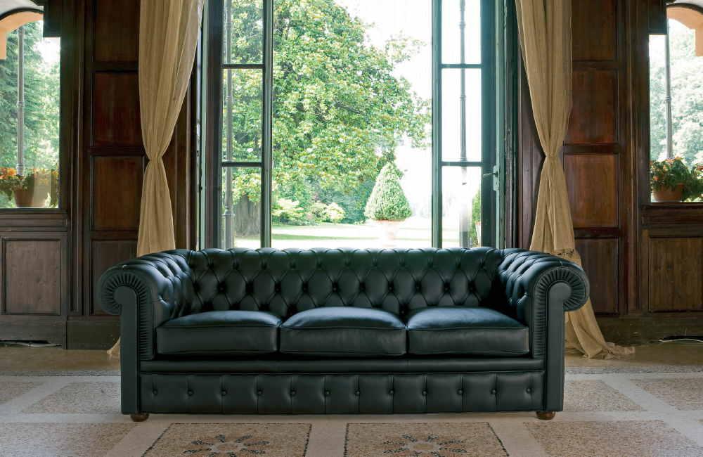 Sofa Richmond Chesterfield collection BertO