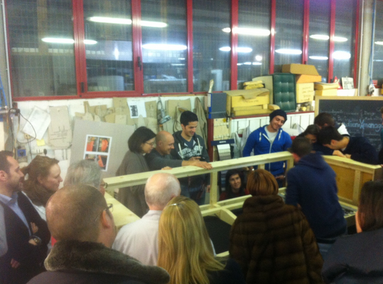 Youth, craftsmanship and quality - workshop divanoXmanagua