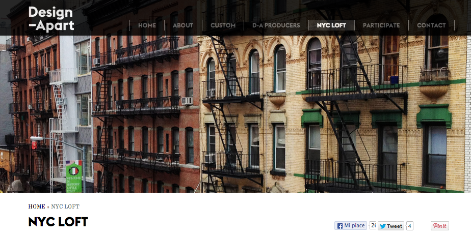 New York living showroom project Design-Apart