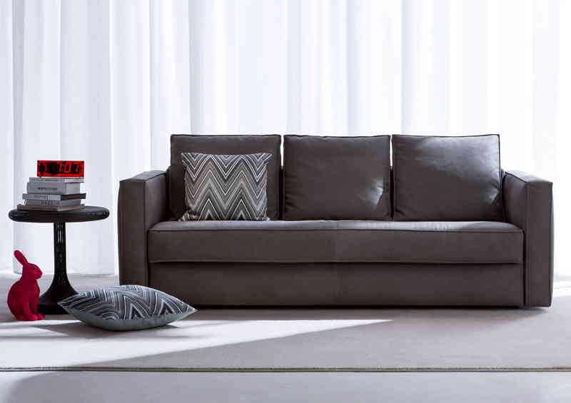 Robinson leather Sofa Bed