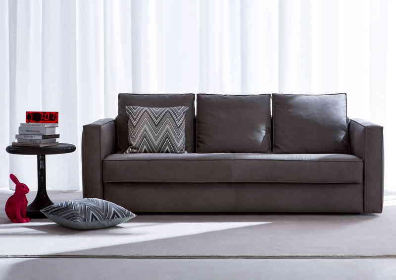 Robinson leather Sofa Bed