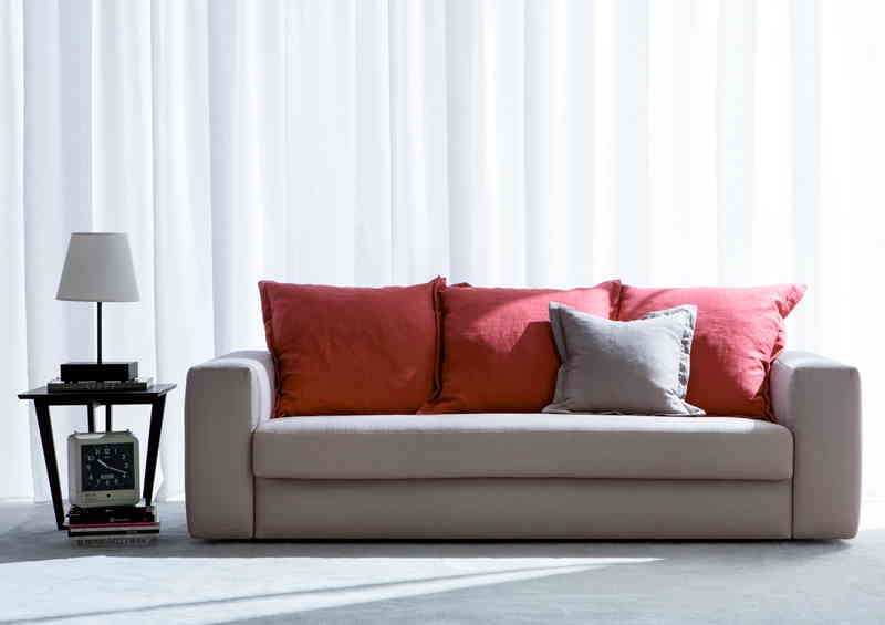 passepartout colourful fabric sofa bed
