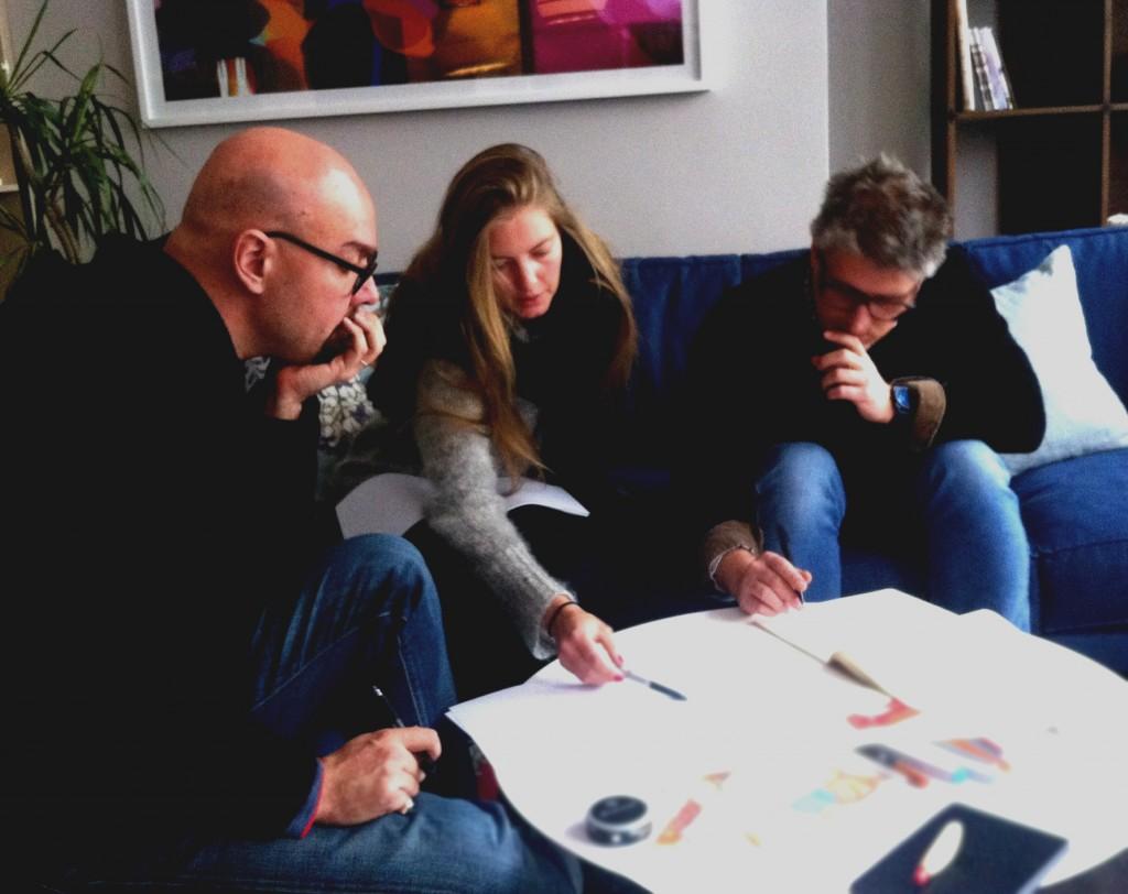 BertO design team for #sofa4manhattan