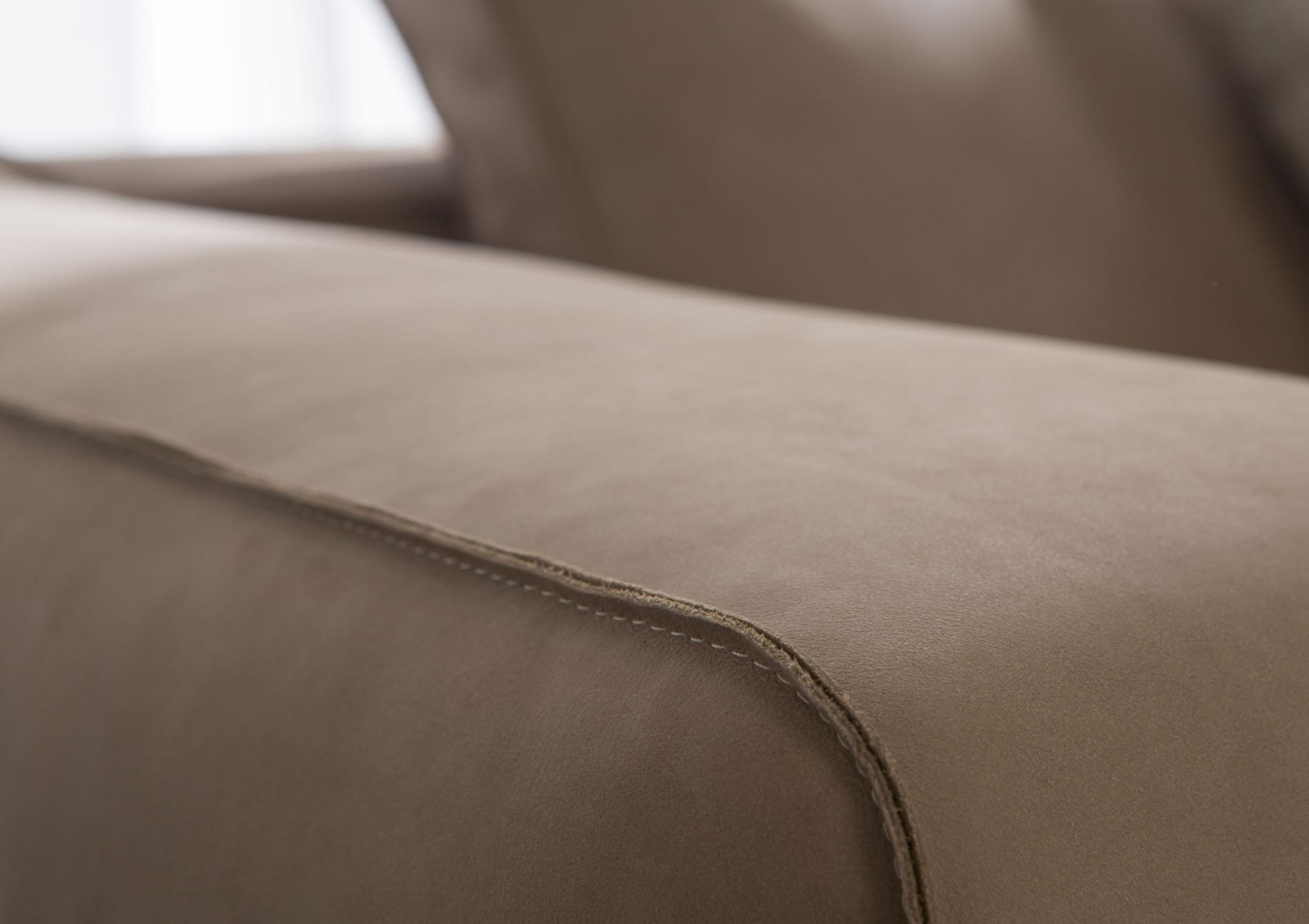 Christian leather sofa