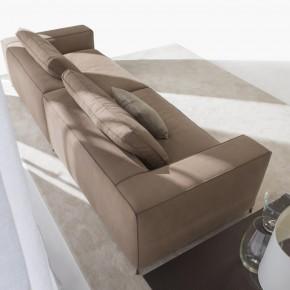 Christian leather sectional sofa