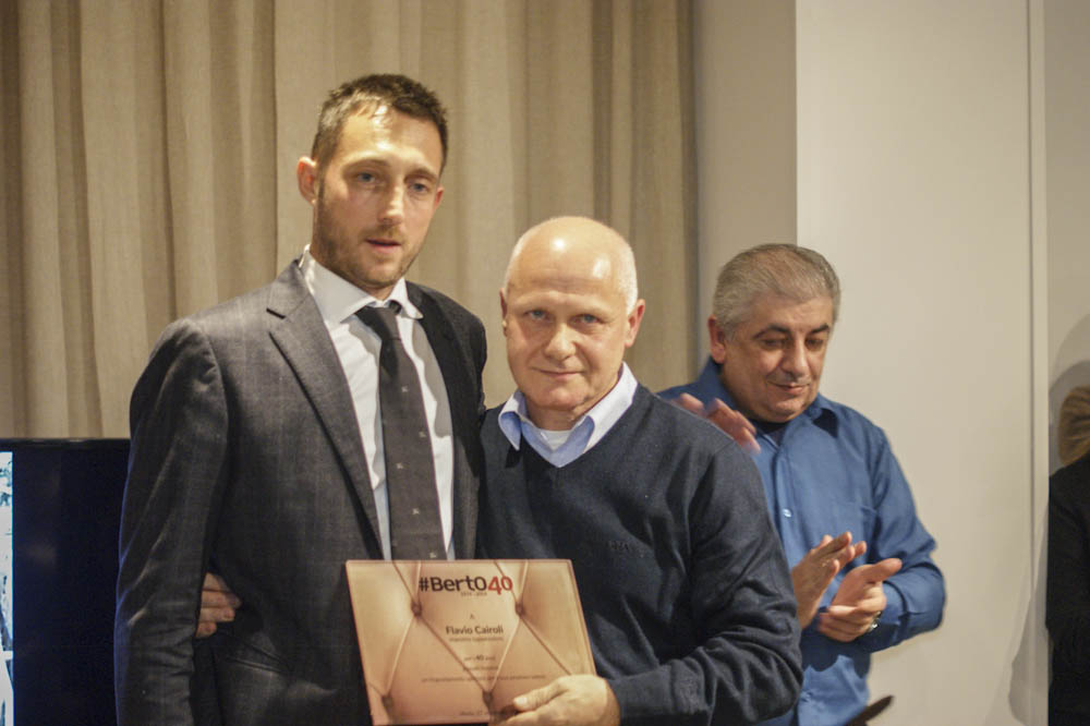 Filippo Berto e Flavio Cairoli: 40 years with BertO