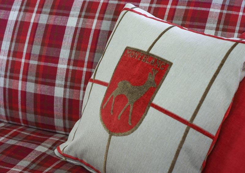Fabric sofa - mountain home
