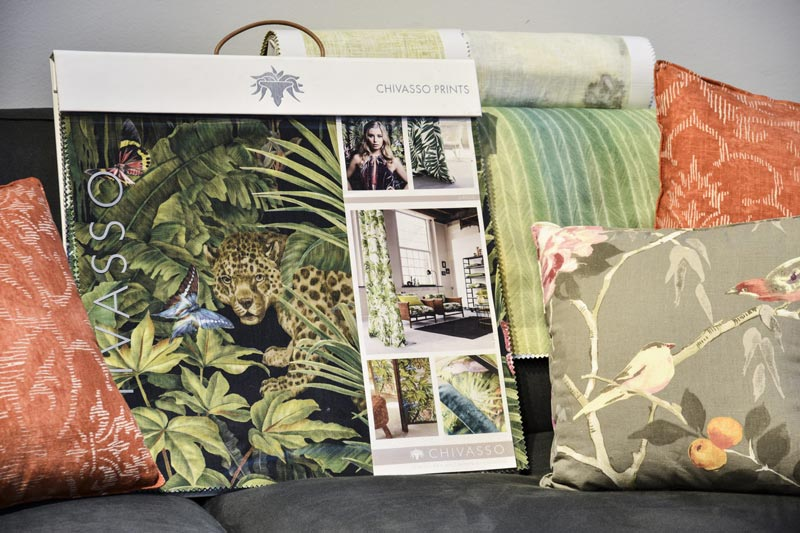 Chivasso collection fabric for BertO