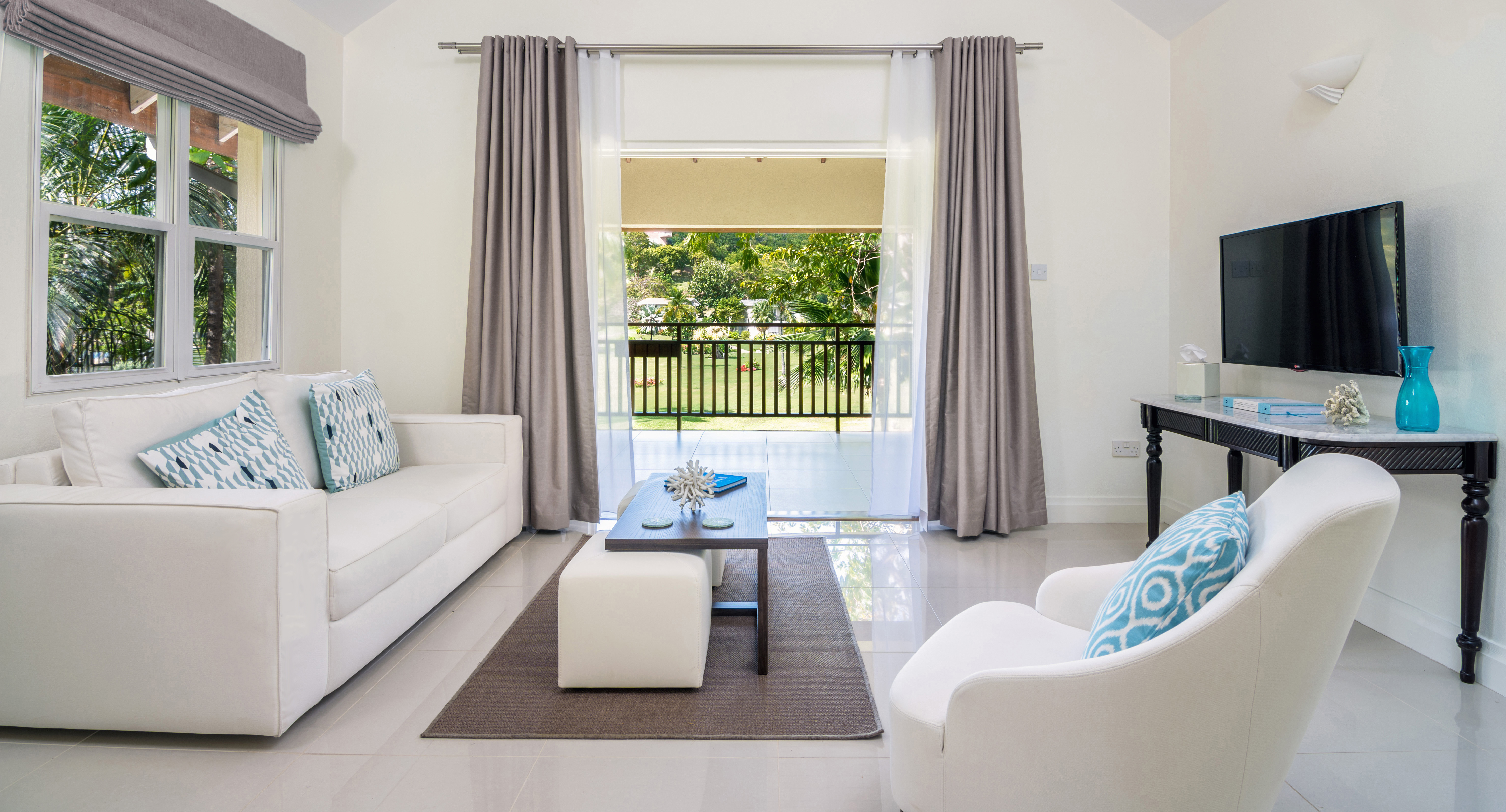 Deluxe Living Room calabash hotel Grenada