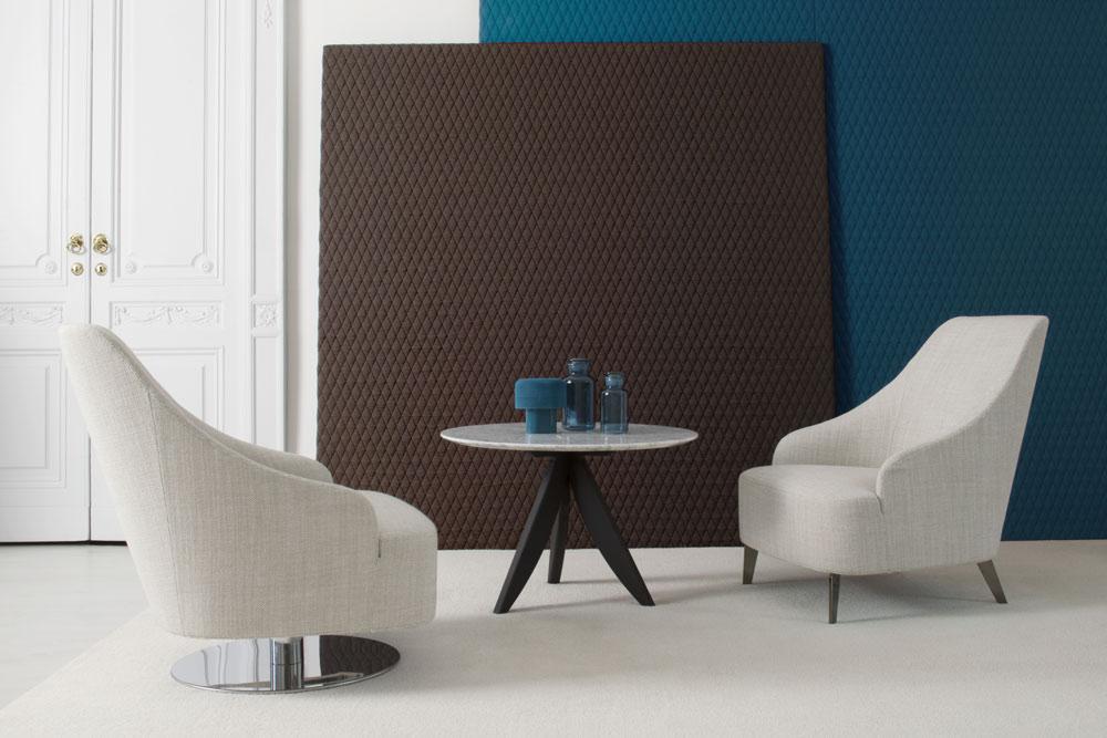 emilia fabric armchair