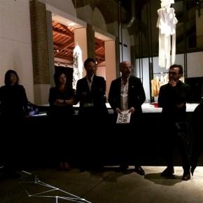 Inaugurazioen mostra new craft con il curatore Stefano Micelli