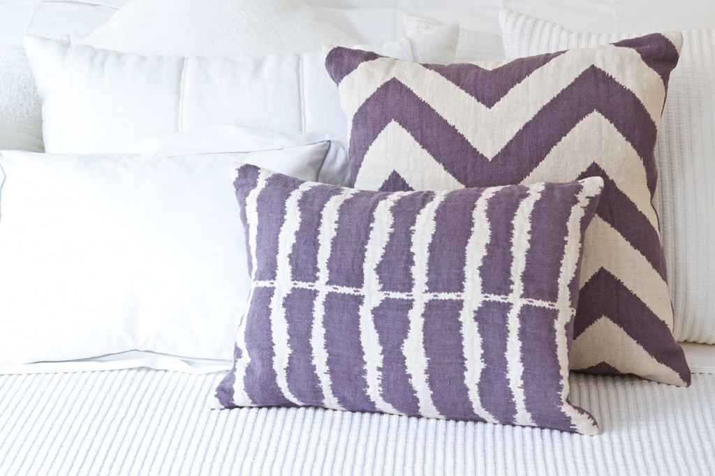 pillows with c&c linen