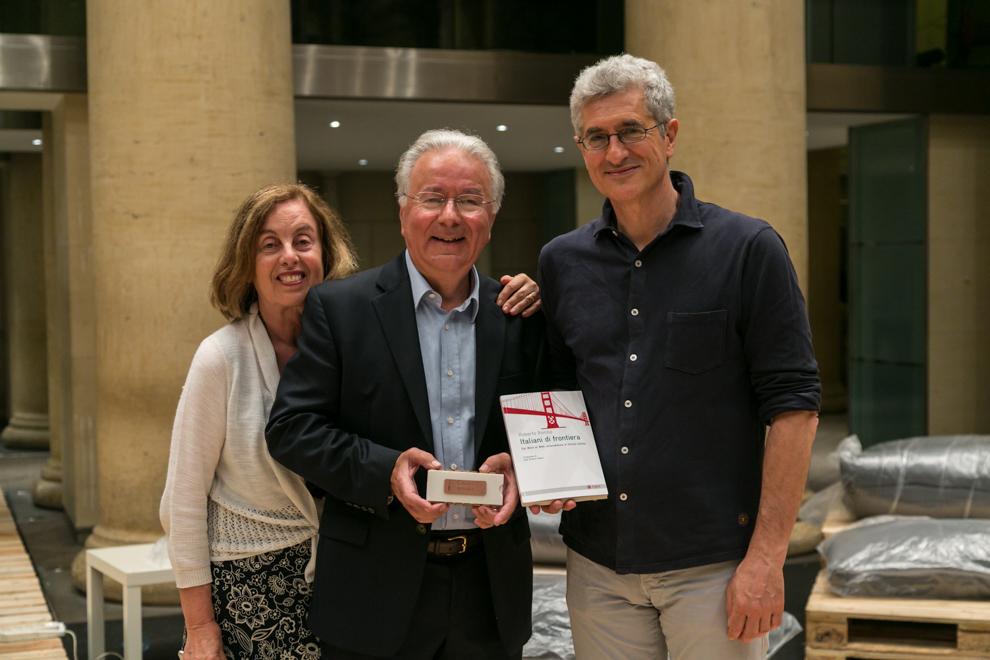 """Roberto Bonzio book tour """"Italiani di Frontiera"""""""