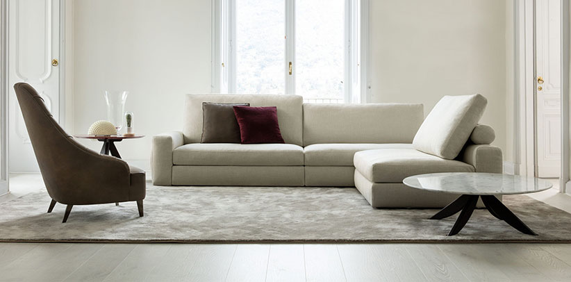 Joey sectional sofa comfort version