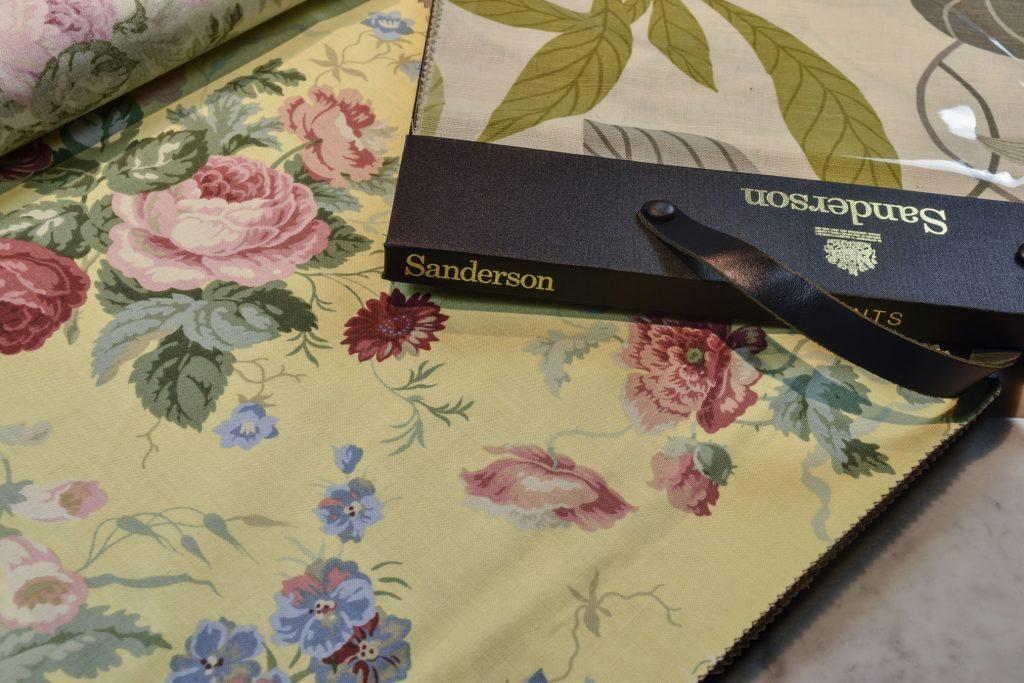Sanderson fabrics for BertO collection
