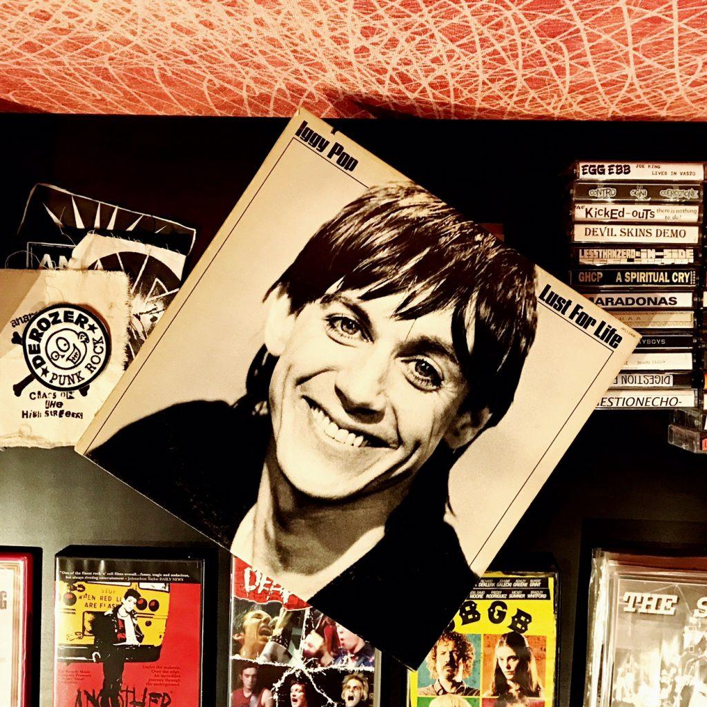 #BertoLive loves punk rock: Iggy Pop vinyls collection