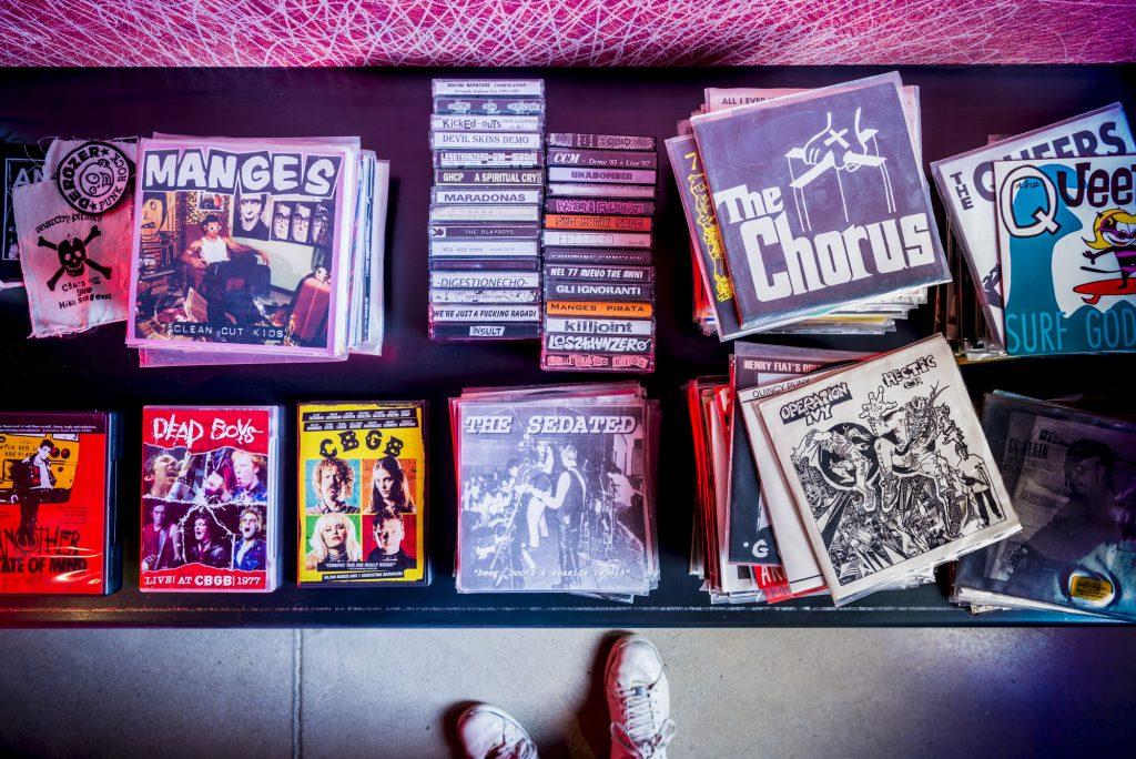 #BertoLive vinyls in BertO showroom Meda