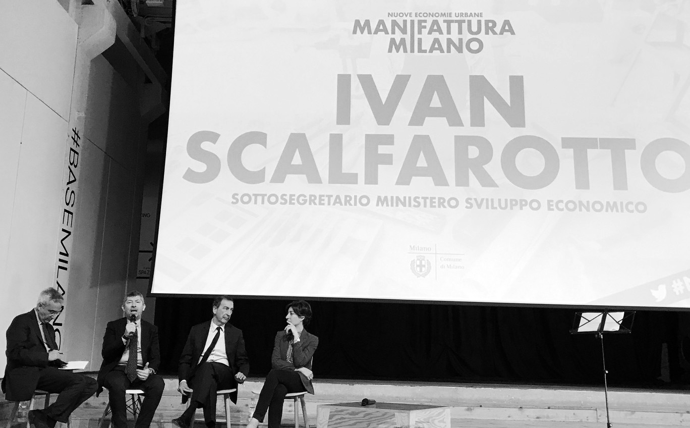 Sottosegretario Ivan Scalfarotto manifattura milano