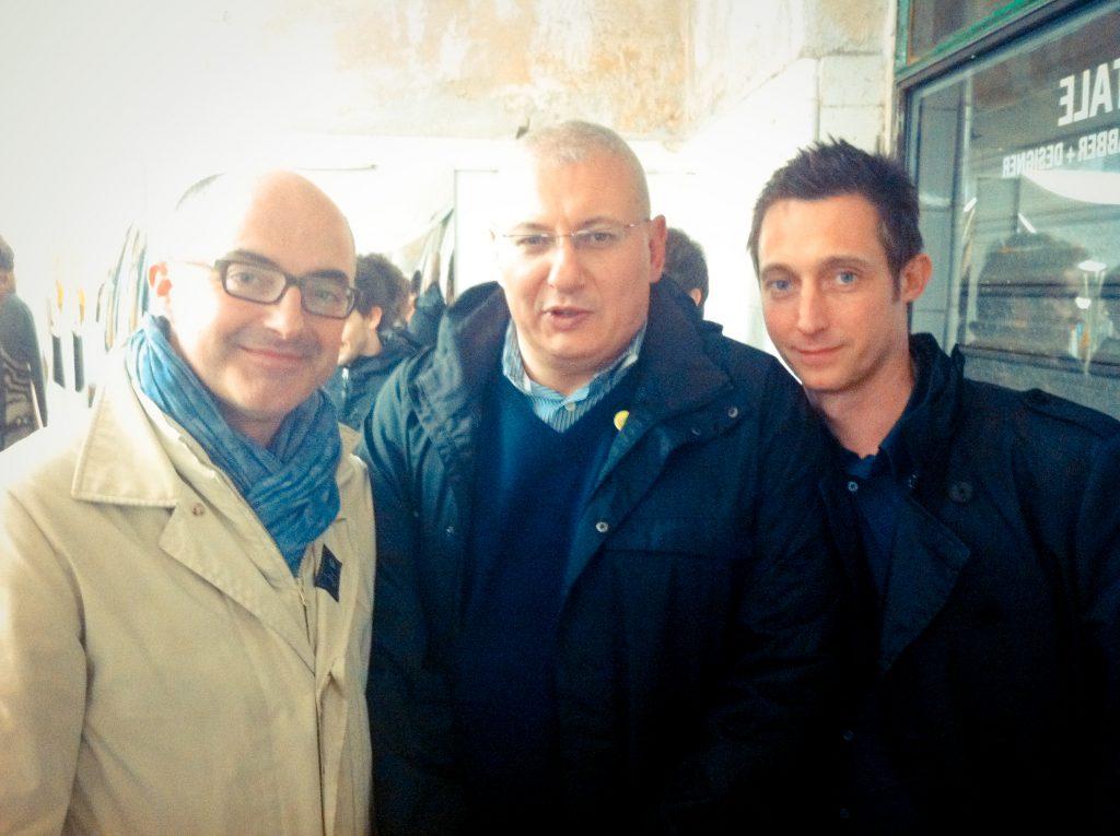Stefano Micelli, Stefano Maffei e Filippo Berto