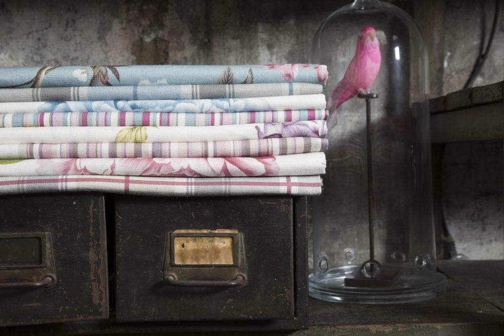 Floreal fabrics LaMadrid BertO collection