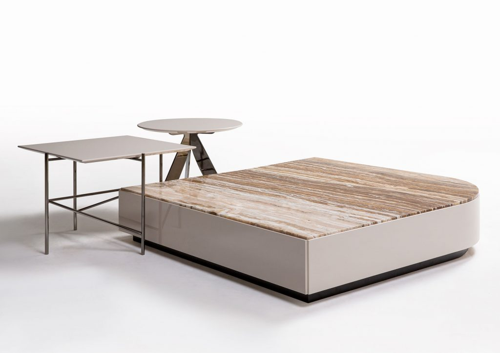 Riff coffee tables by BertO