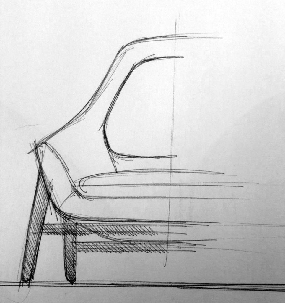 Hanna armchair first draft by BertO