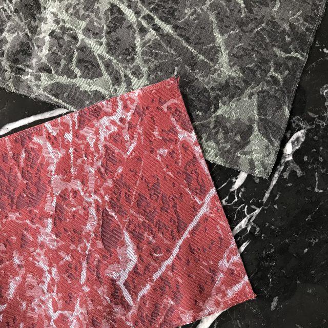 collezione tessuti e pelli berto: rivestimento per cuscinetti effetto marmo
