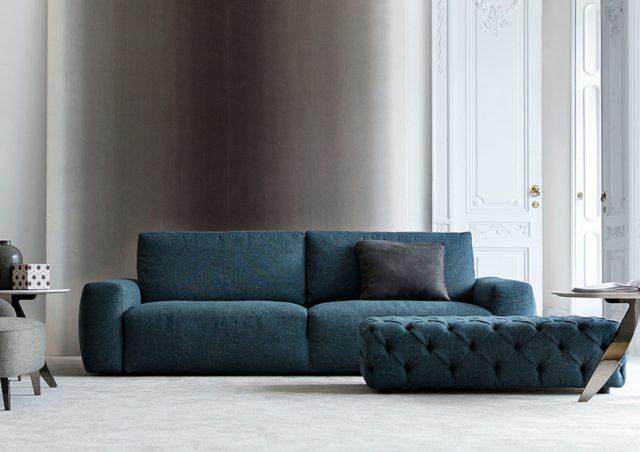 johnny blue petrol sofa