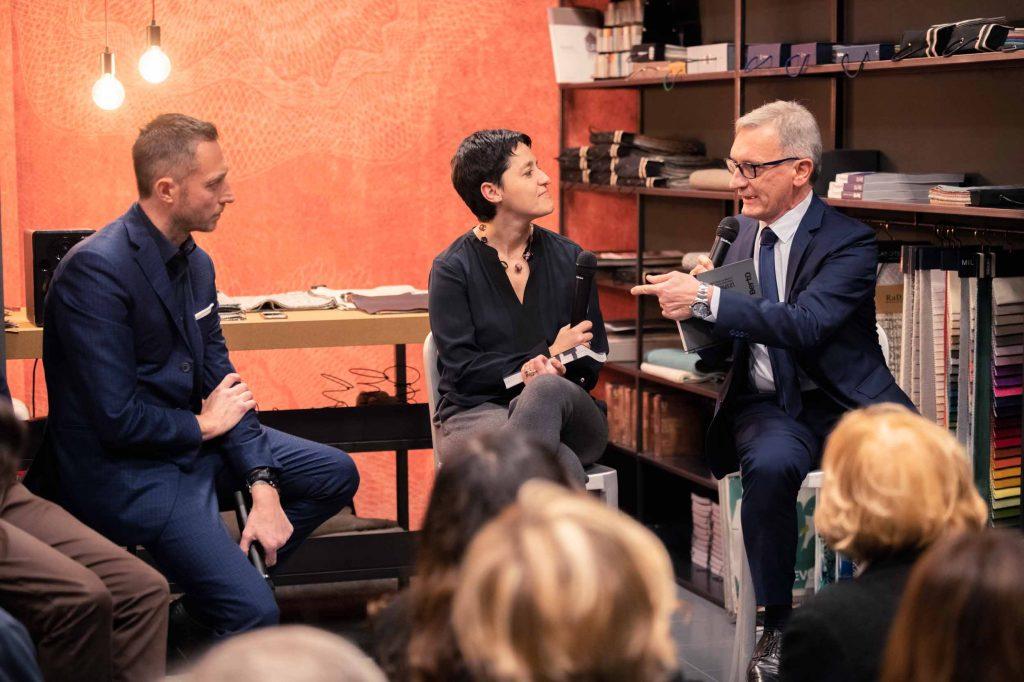 Presentation of book Spirit of 74 in the BertO showroom in Brescia