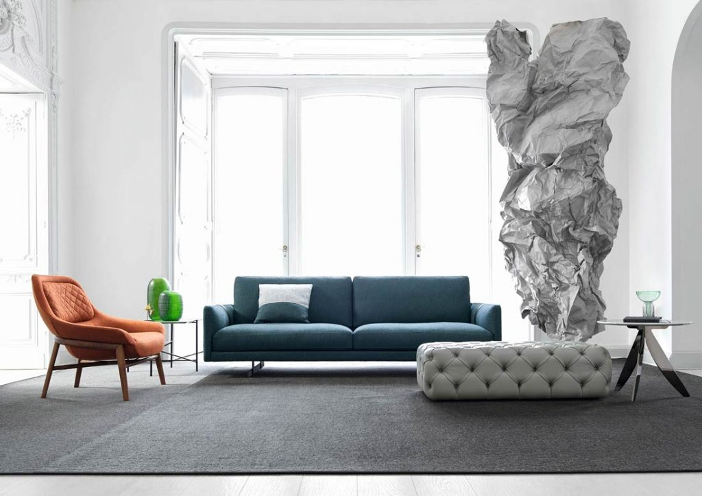 dee dee modern sofa - berto the dream design made in meda
