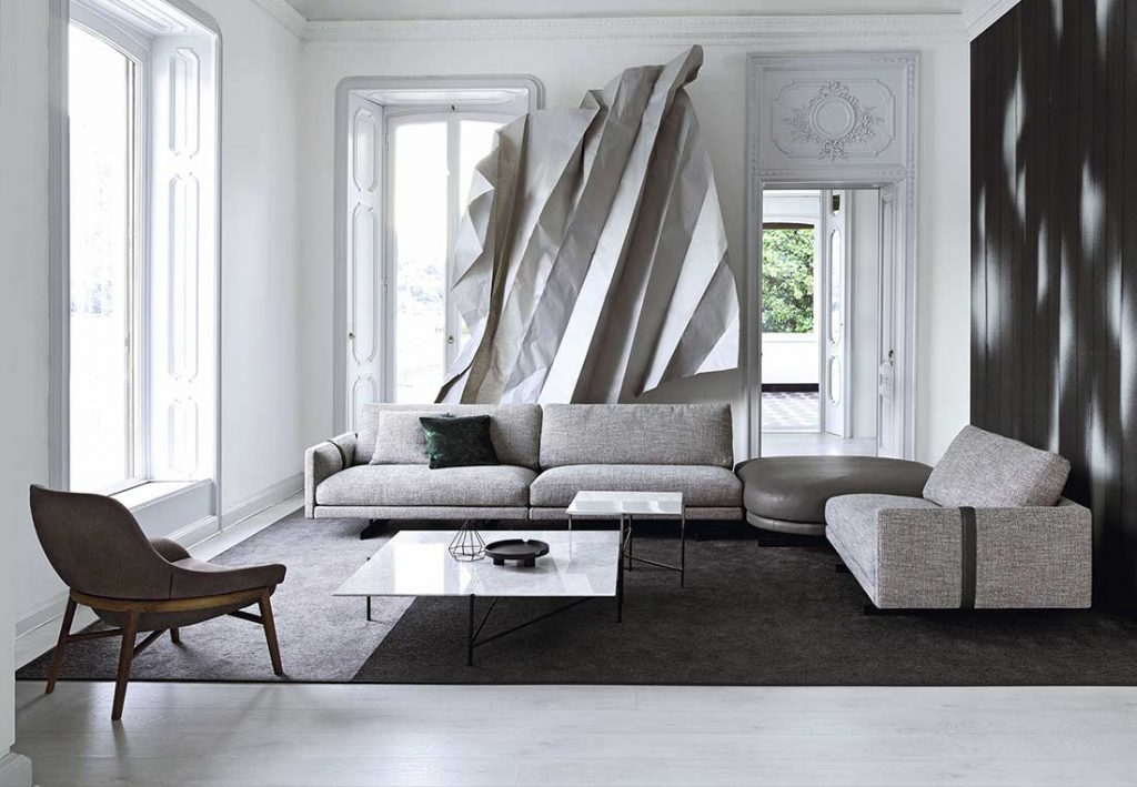 Dee Dee sofa in the new 2020 Collection, the innovative seating system