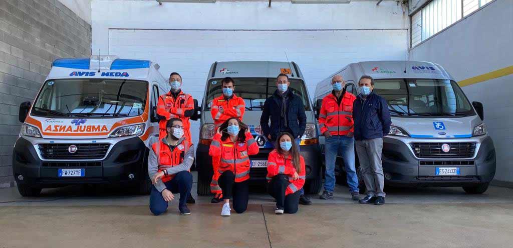 The volunteers of Avis Meda and Filippo Berto Featured image