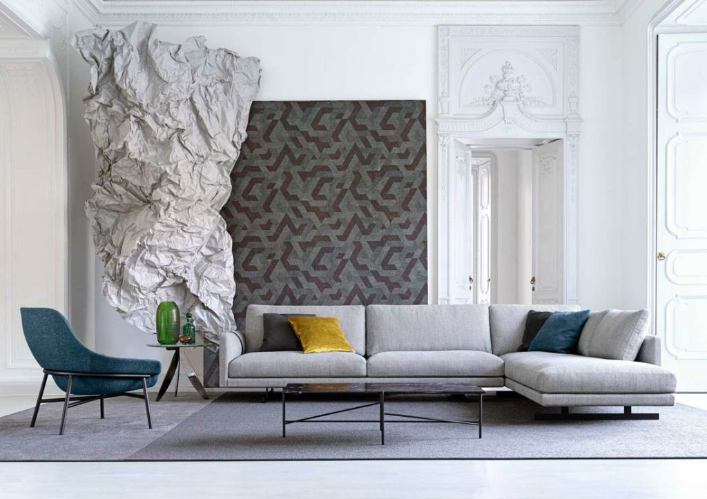 Fabric for the Dee Dee sofa by BertO- the dream design made in Meda