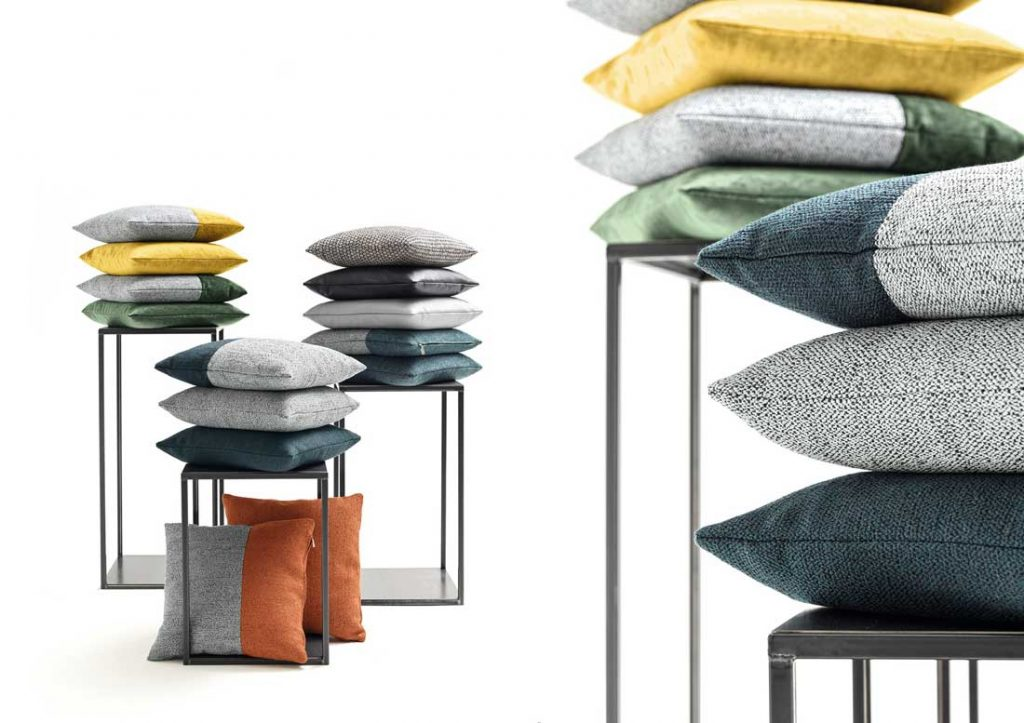 Cushions for sofas by BertO the dream design made in meda