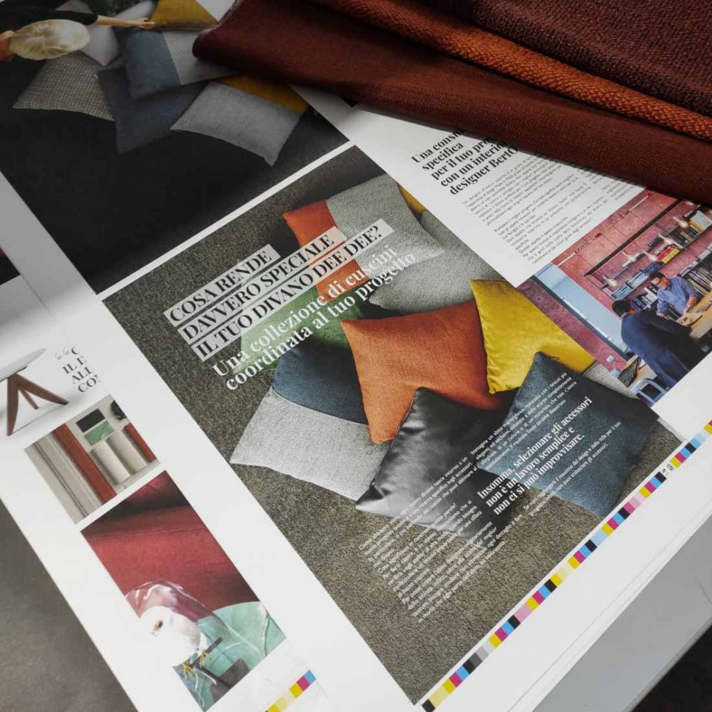 BertoBillboard: the press images of the new design magazine created by BertO - the Dream Design Made in Meda