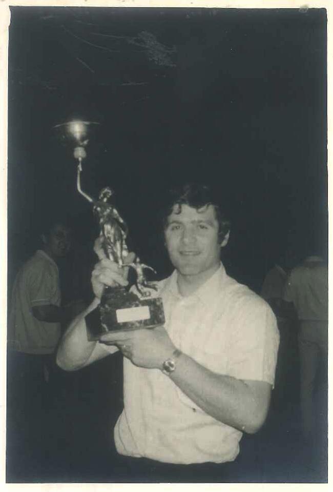 Carlo Berto in the 1970s