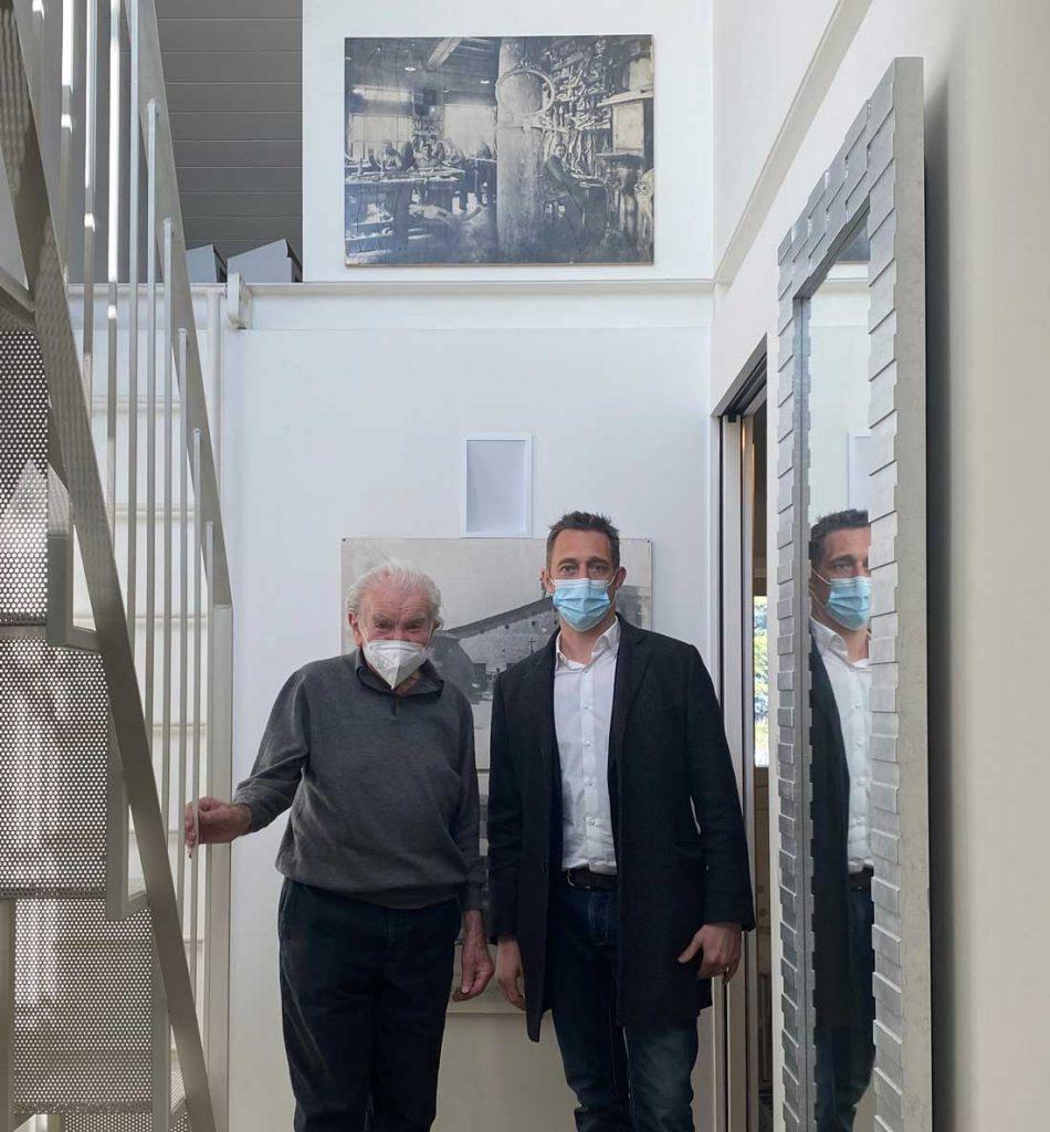 Eugenio Boga and Filippo Berto for the project Made in Meda