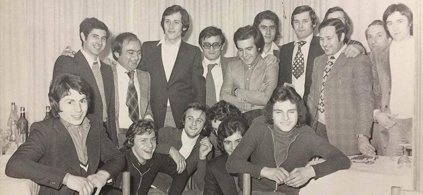 Fioravante and Carlo Berto in Brianza in the 1970s